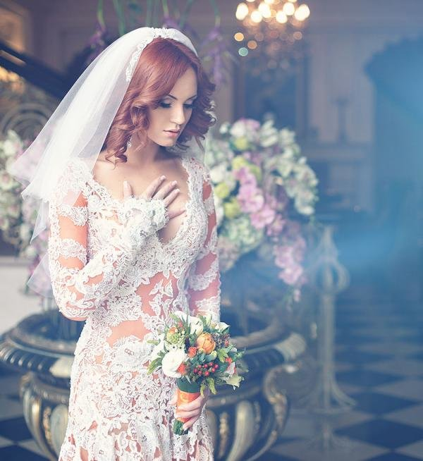 вернее часть, фотосессия в свадебных нарядах при выращивании