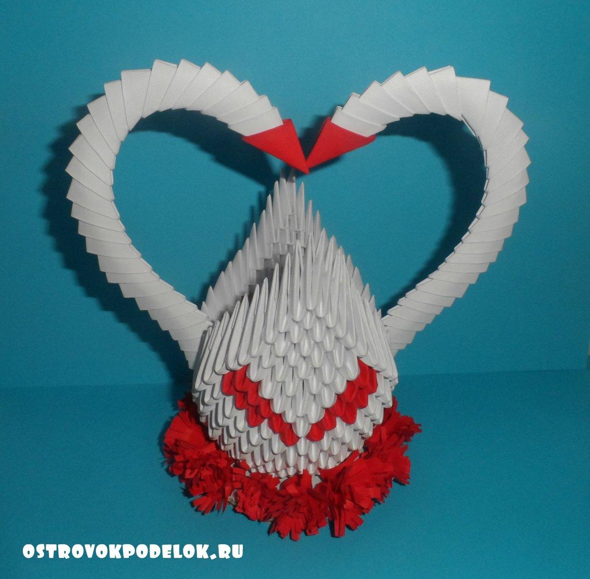 Модульного оригами схема сердца фото 770