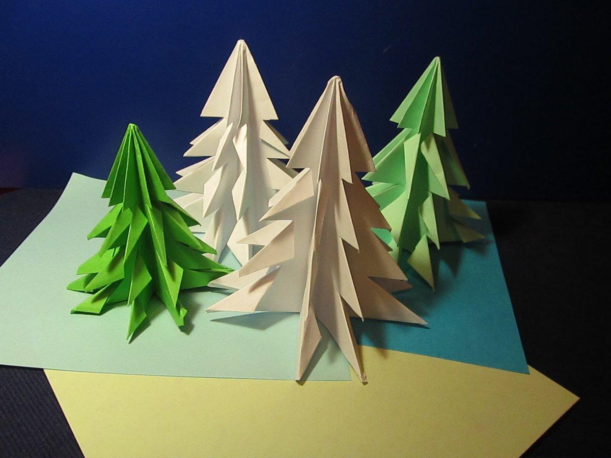 Картинки поделки новогодние оригами, поздравляем