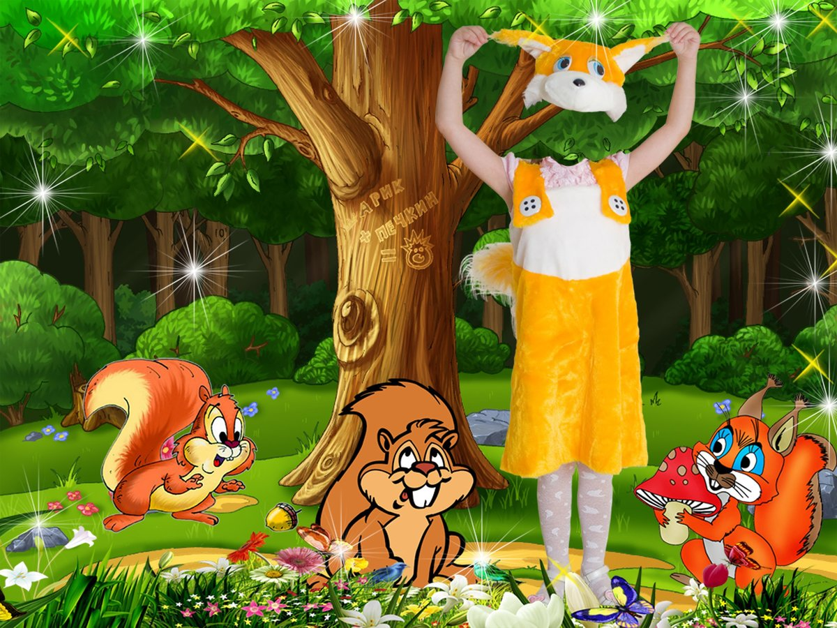 большую фотомонтаж шаблоны костюмов к сказке колобок обоев кот весна