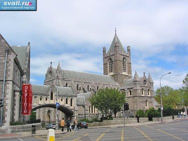 christ church cathedral, дублин
