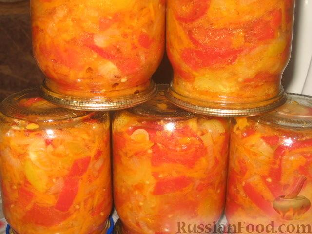 Консервирование салатов на зиму рецепты с фото