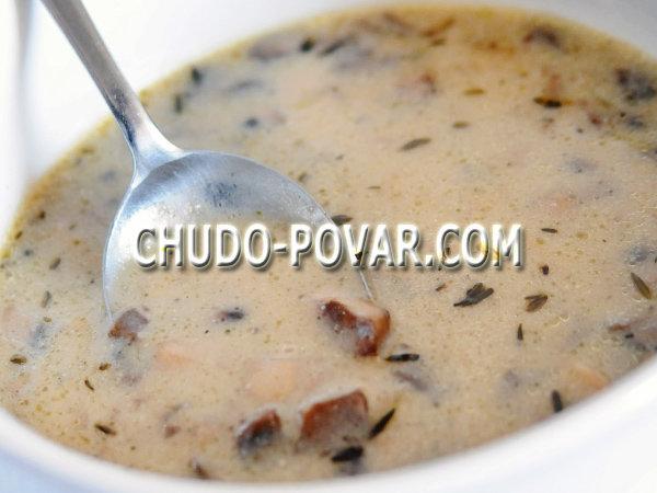лапша из белых грибов свежих рецепт