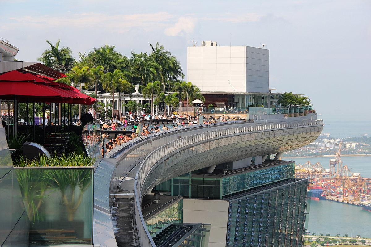 сингапур фото отеля с бассейном на крыше товаров праздника