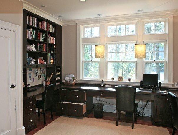 Дизайн домашнего кабинета   Идеи интерьеров