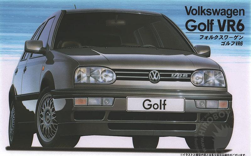 Fujimi Volkswagen Golf Mk3 VR6