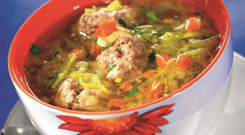 Овощной суп с мясом рецепт с фото