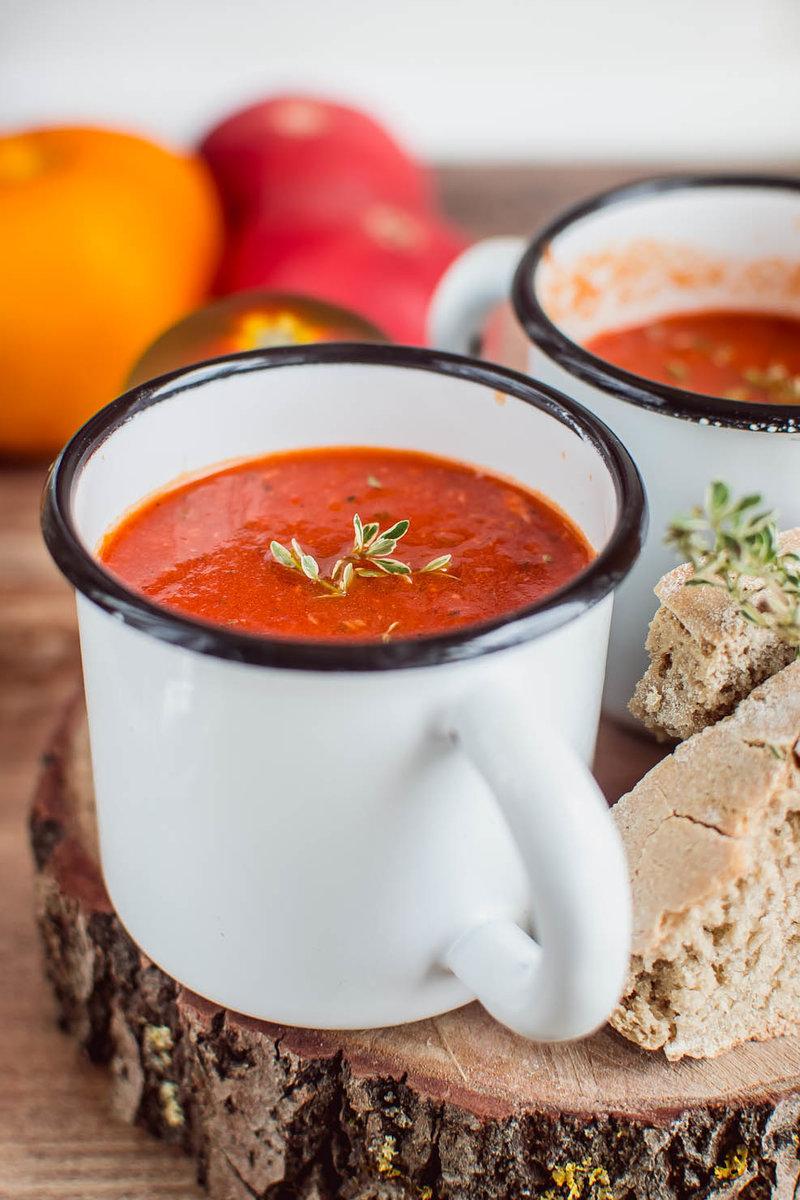 Томатный суп за считанные минуты - kirilife