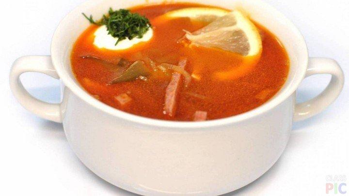 суп солянка рецепт с фото с капустой