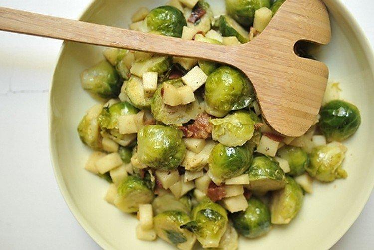 брюссельская капуста салат