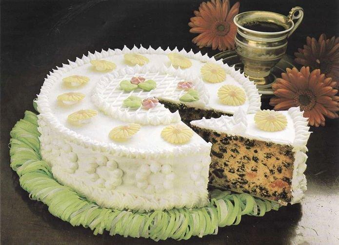 Рецепты простых-свадебных тортов с фото