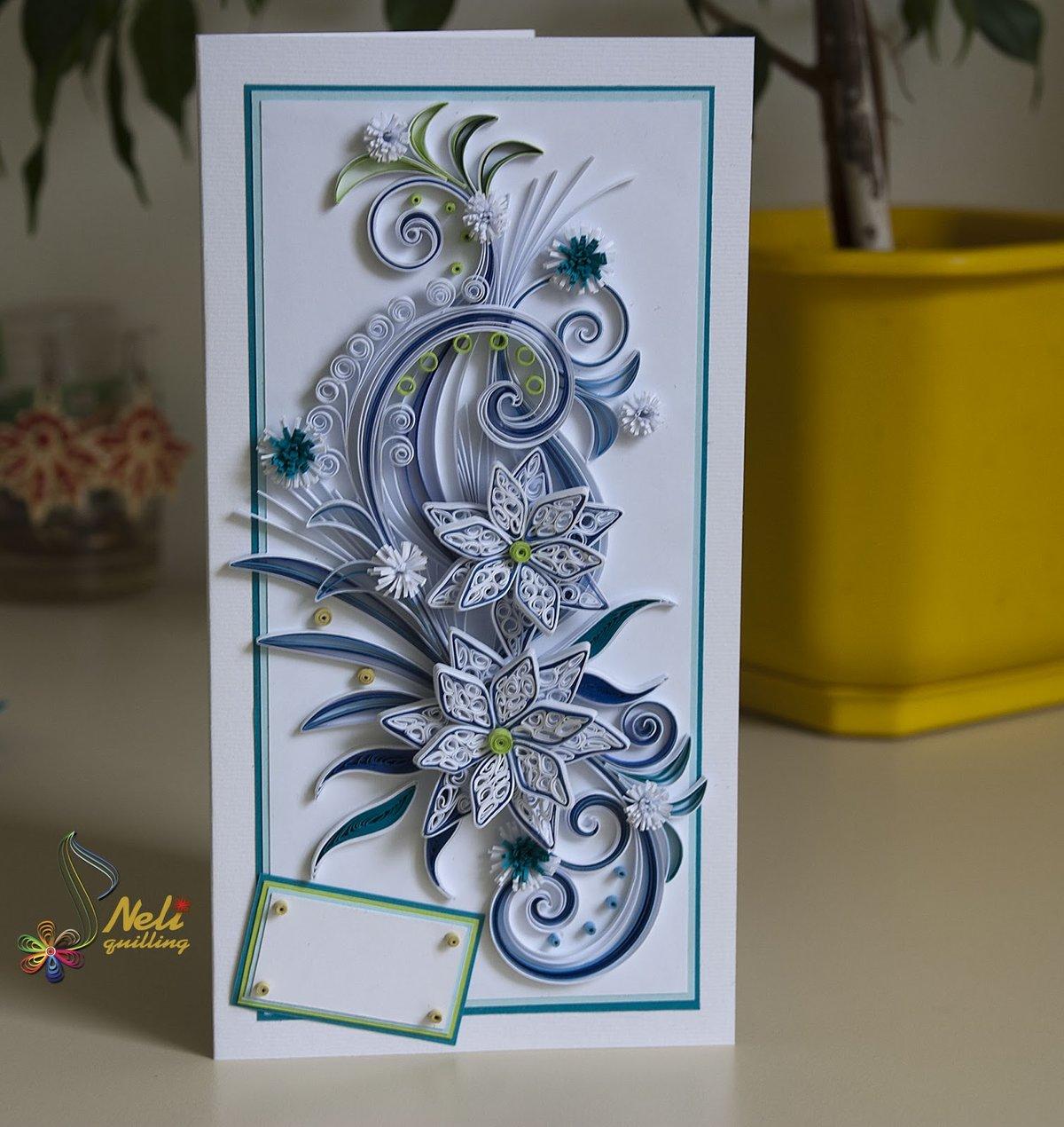 Картинки, открытки своими руками техника