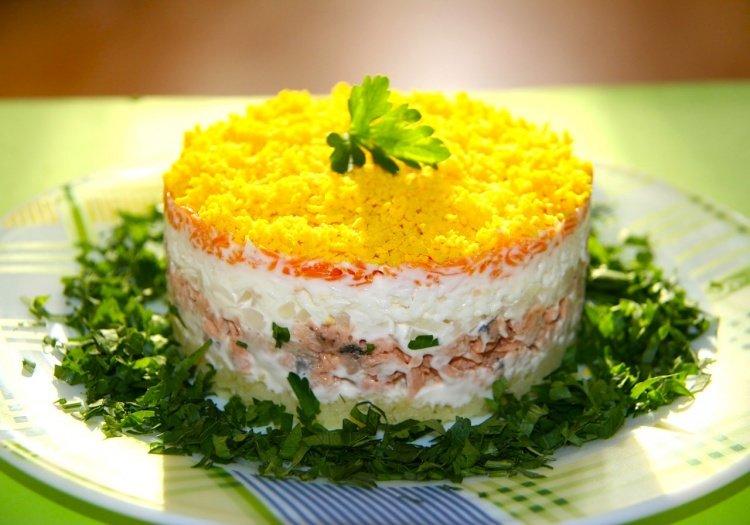 Салат классический рецепт с фото