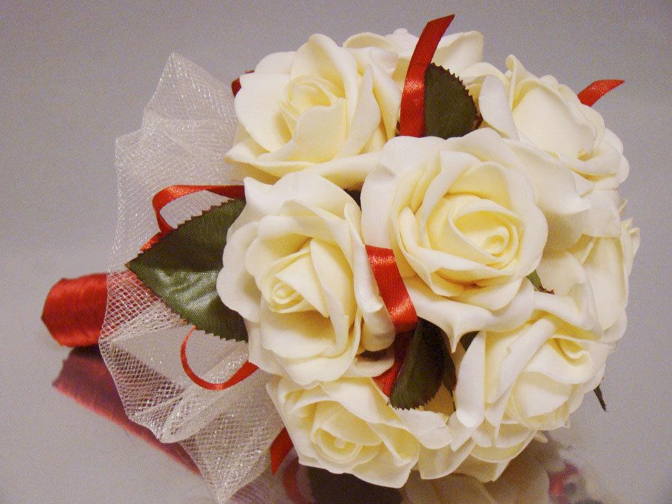 Букеты дублеры на свадьбу из фоамирана, купить свадебный букет