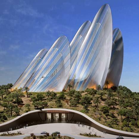 Проект нового здания в рамках национального музея Zayed National Mueum в Абу Даби разработала известная нам по предыдущим публикациям британская архитектурная студия Foster + Partners.