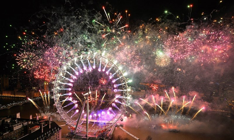 Новый Год в Лондоне