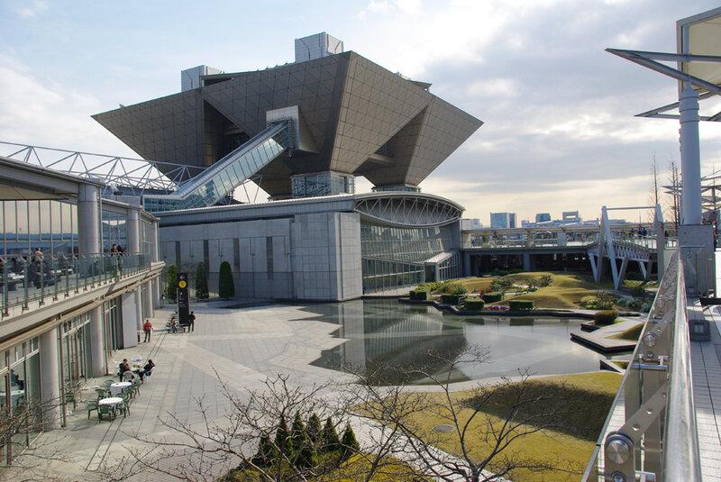 Выставочный центр Tokio Big Sight
