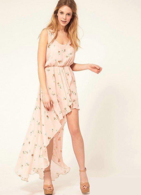 летние легкие платья фото