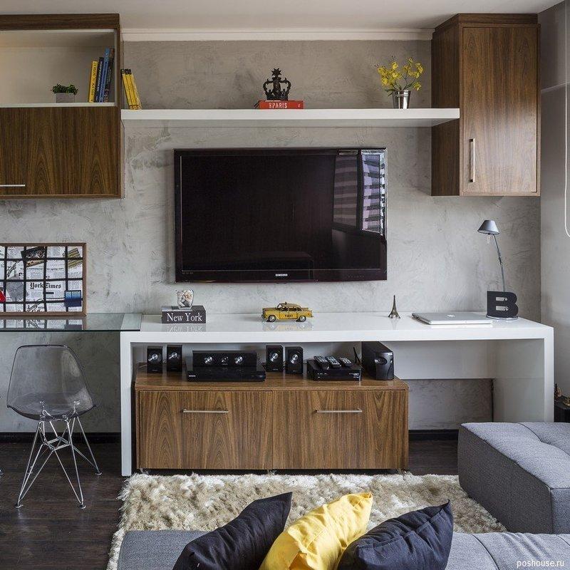 Современные дизайнеры сталкиваются с такой проблемой, как малогабаритность жилых помещений, практически в каждой второй квартире. Местамало, а вместить надо как можно больше необходимых вещей. К тому же ещё хочется оставить пространство для комфортного проживания. Таким является помещение, за которое взялась студия BEP Architects. Оно расположено в самом сердце жаркой страны – в столице Бразилиа.