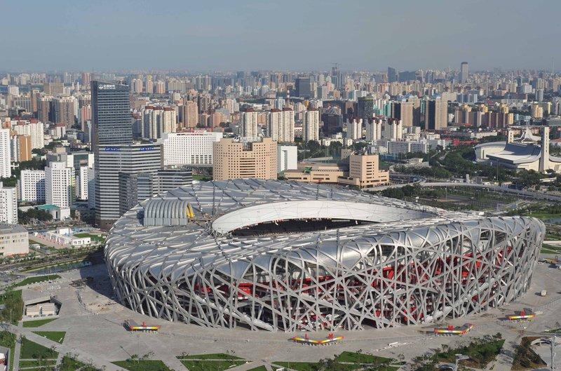 Птичье гнездо - Пекинский Национальный Стадион