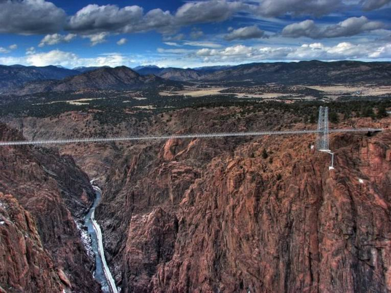 Мост Royal Gorge Bridge (Королевский мост)