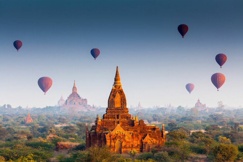 Большое путешествие в Индокитай: Лаос - Мьянма