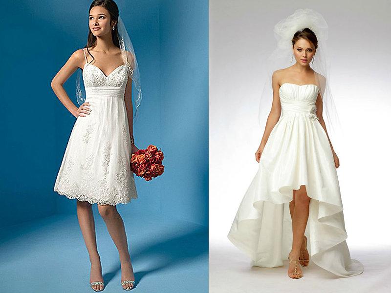 7929f03c9c59 Свадебные платья для невысоких девушек  лучшие модели сезона Невысоким  девушкам идеально подойдет короткая фата или