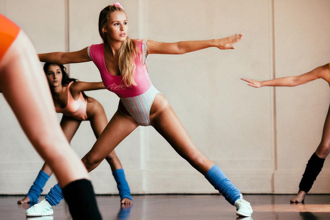 ритмическая гимнастика девушек в нижнем белье видео фото - 2