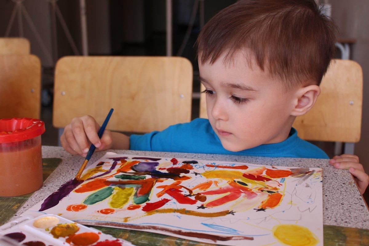 Детские рисунки самостоятельно