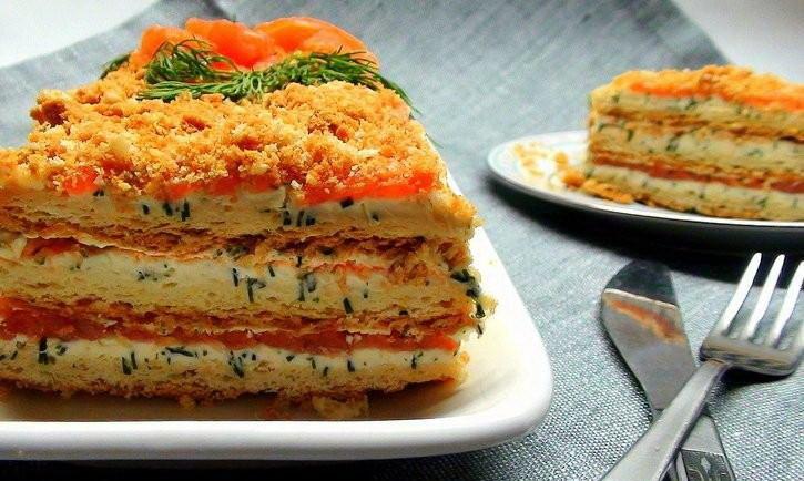 Торт наполеон из готовых коржей с фото