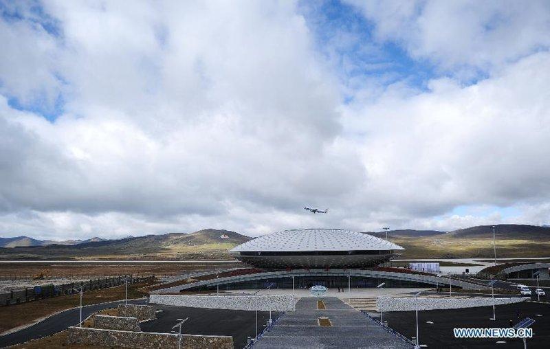 Аэропорт Ядин в Даочене, Китай