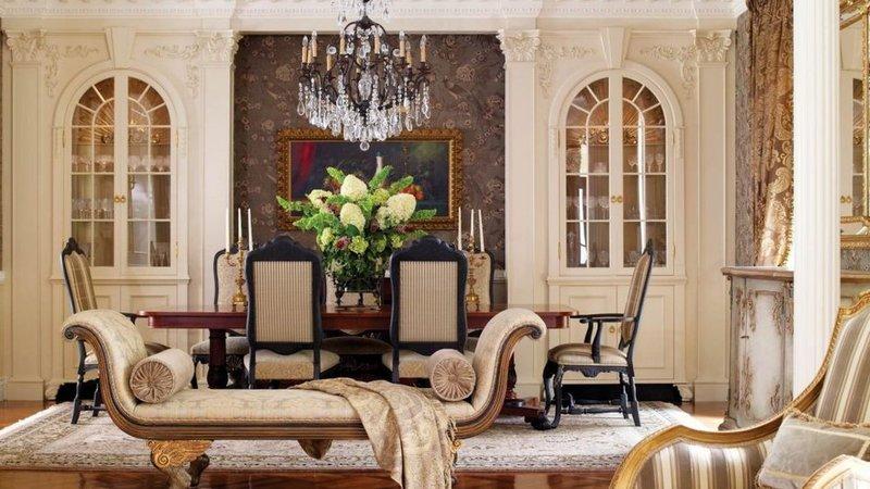 Заказать дизайн интерьера в Москве в стиле классицизм квартир или загородных частных домов.