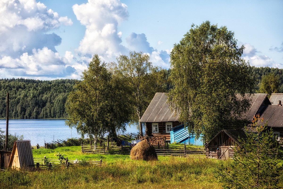 Картинки деревня летом на рабочий, открытки новым годом