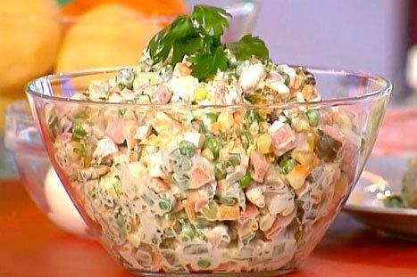 салат из вареных овощей с фото