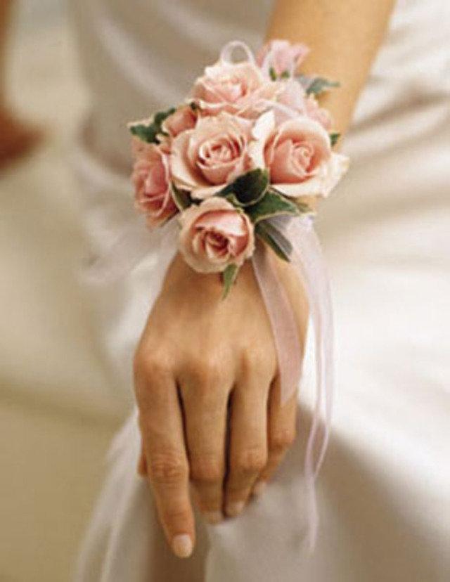 Цветы браслет на руку фото