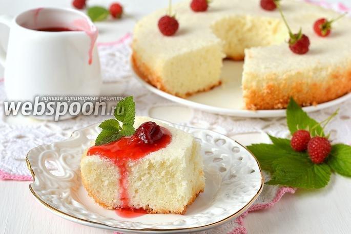 Торт бисквит на белках