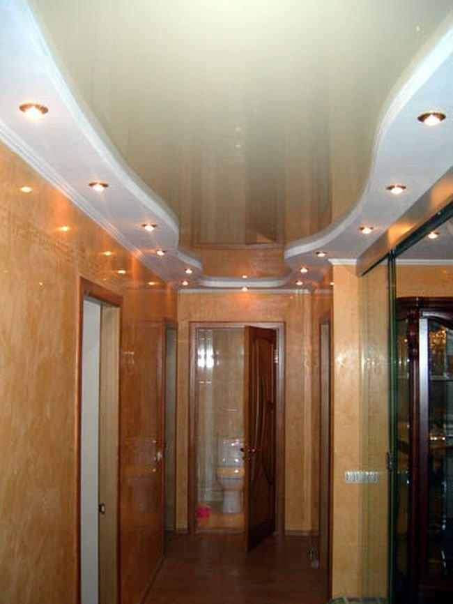 Навесные потолки фотографии для коридора