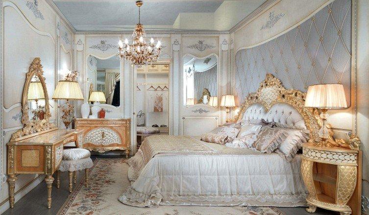 Спальня в стиле Барокко Дизайн интерьера
