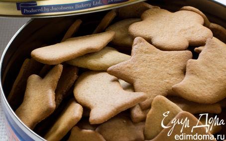 Постное имбирное печенье