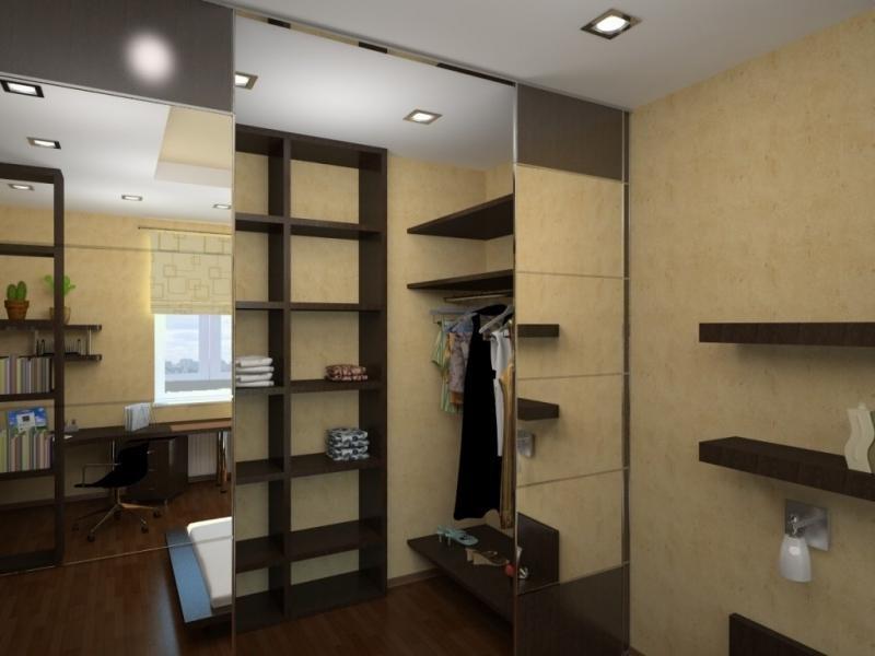"""Функциональная гардеробная для маленькой квартиры."""" - карточ."""