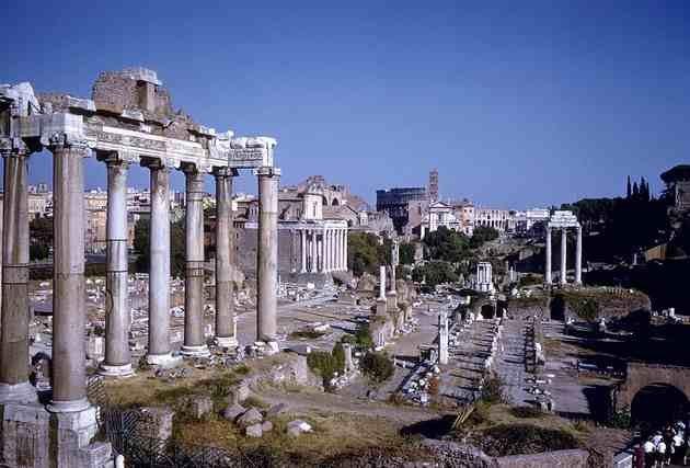 Форум. Рим.