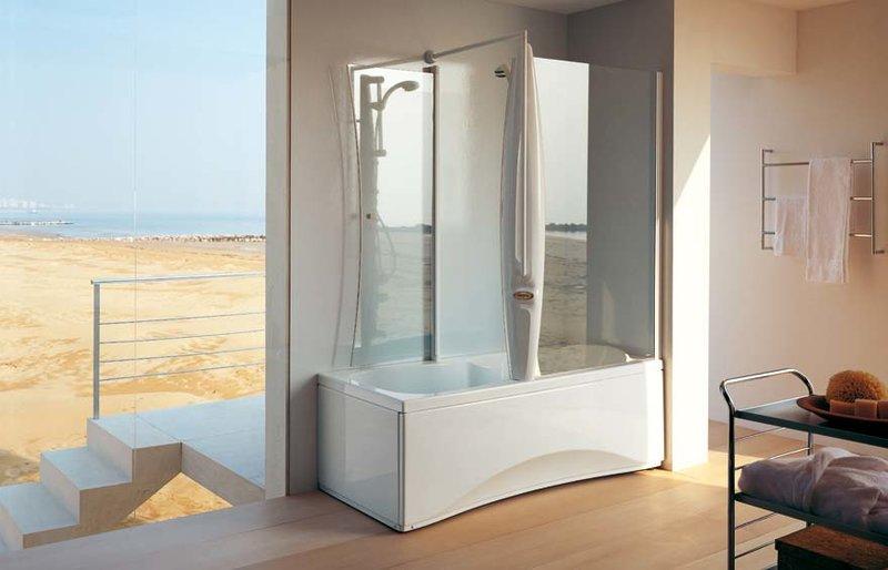 Ванна с душевой кабиной Jacuzzi