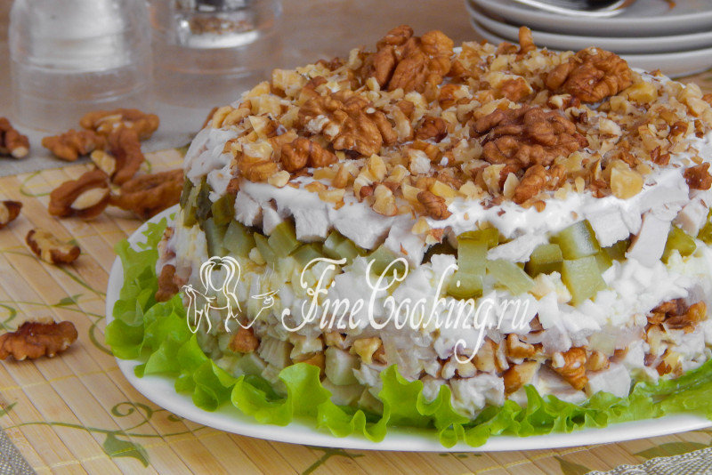 простенькие салаты с фото