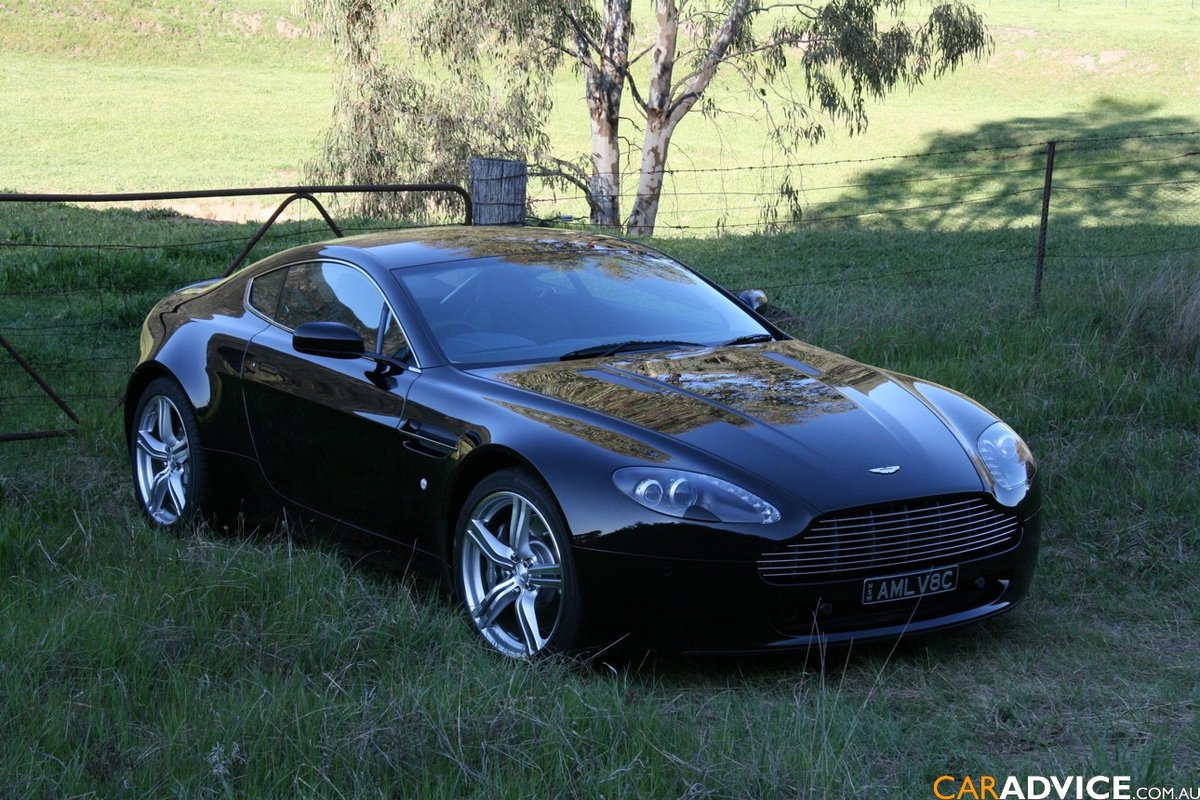 Aston Martin V8 Vantage Price Modifications Picture Card From