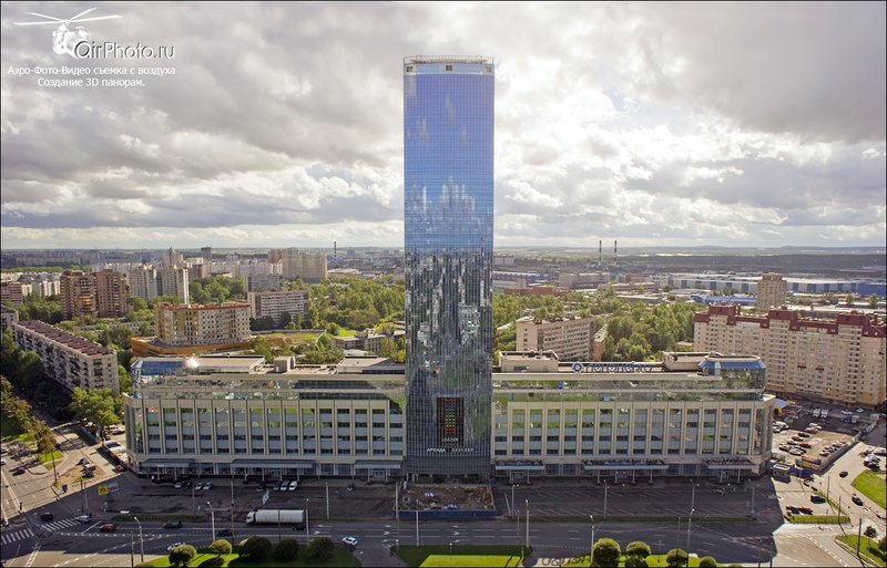Небоскреб Лидер-Товер Leader-Tower, Спб.