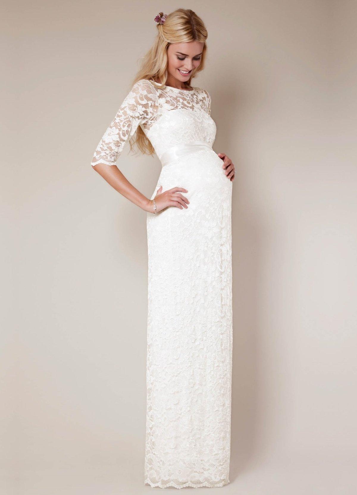 Свадебные платья для беременных на 5 месяце » — карточка ... 6cf82936f26