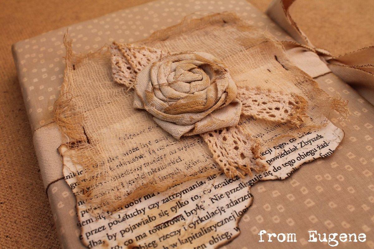 Открытки из старой бумаги