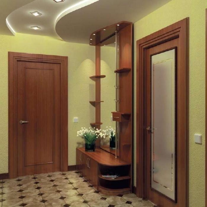 интерьер маленького коридора в квартире фото