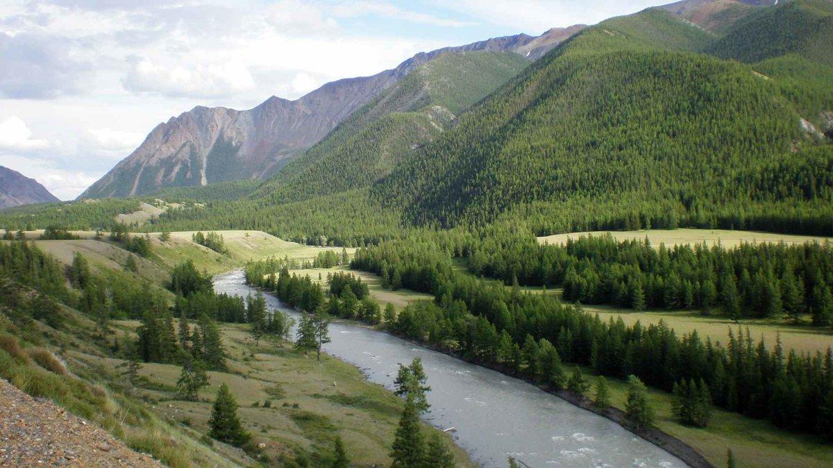 Чарующая река Чуя