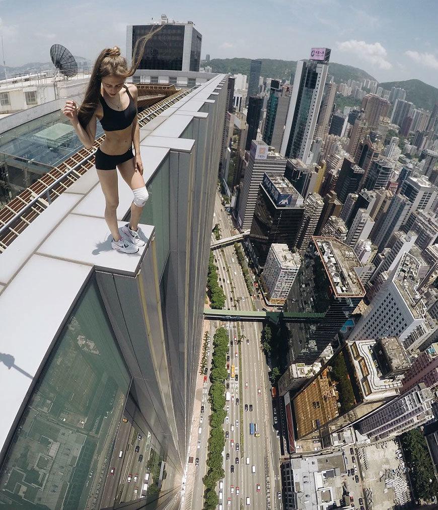 Картинки на высоте девушка